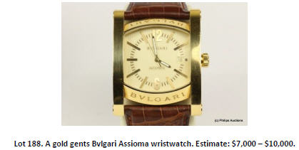 bvlgari wristwatch