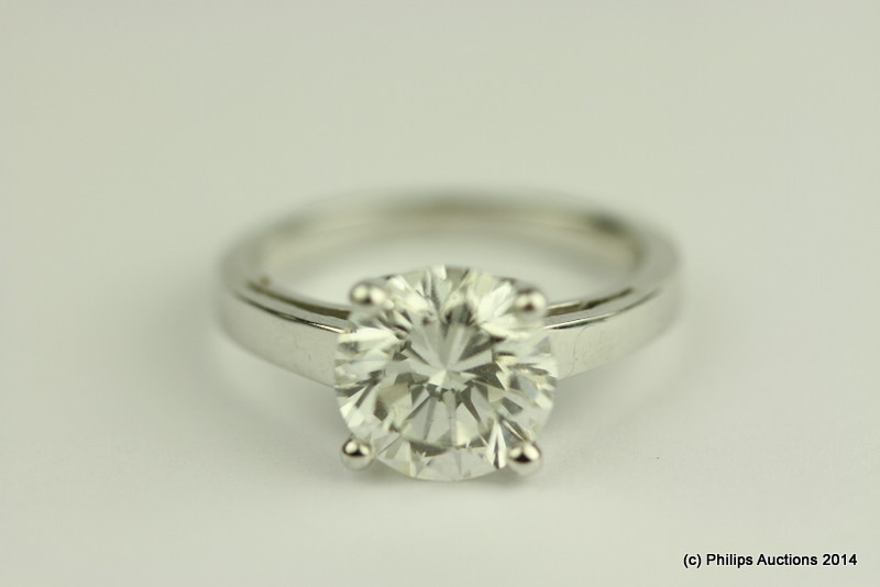 solid diamond jewelry auction rings genuine propertyroom auctions white diamonds com ring c online sz gold