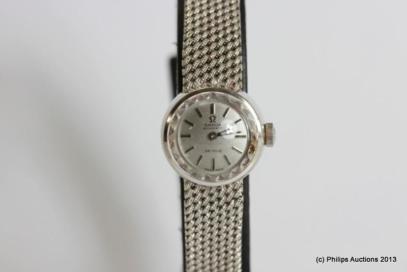 Omega Women's Gold Watch