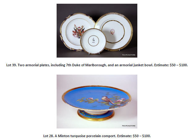 plates and porcelain