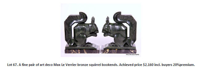 squirrel bookends