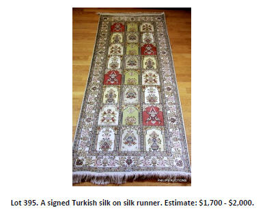 turkish silk runner
