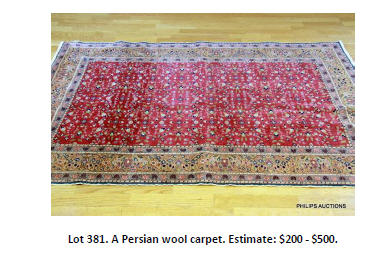 persian wool carpet