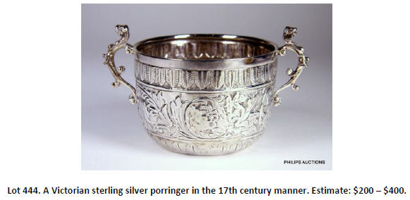 sterling silver porringer