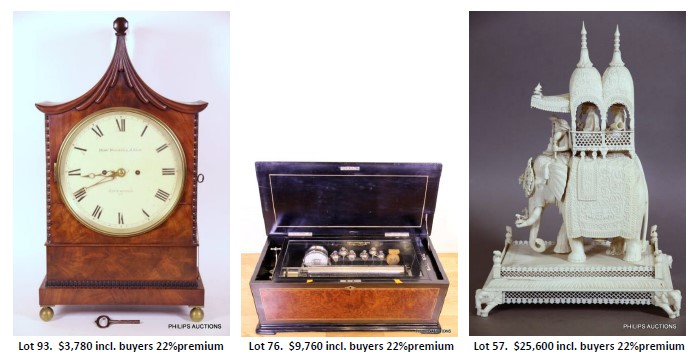 thrilling auction lots